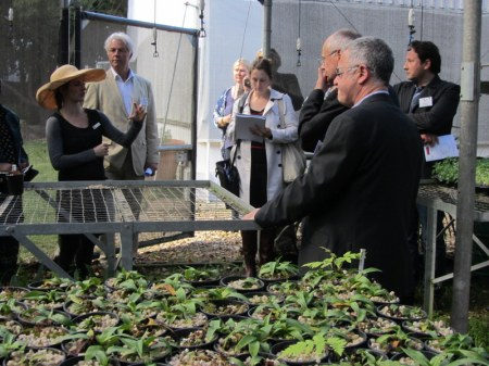Robert Joseph joined a Sustainability Tour at La Motte.