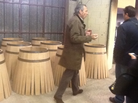 Barrels in the making