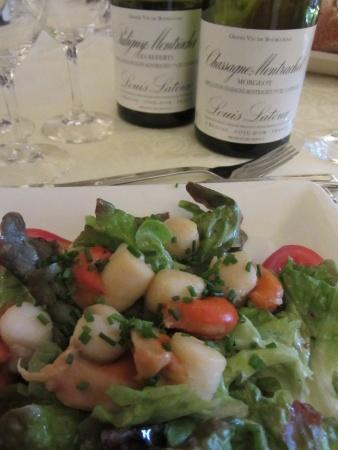 Scallops & Chardonnay