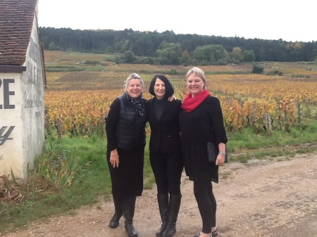 En-route to Clos Vougeot