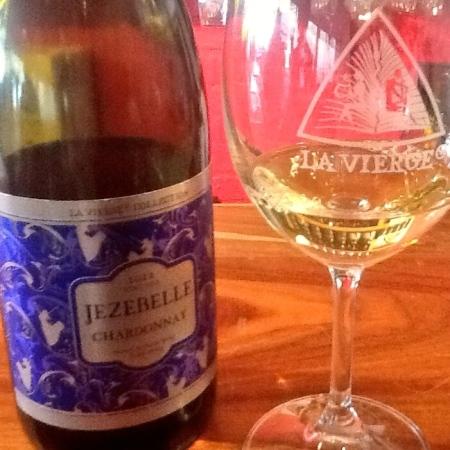 La Vierge's Chardonnay Jezebelle tempts all