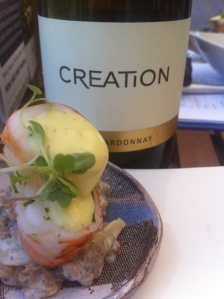 Crayfish & Chardonnay at Creation