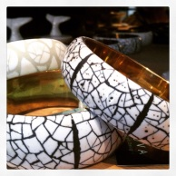 Avoova ostrich shell bracelets, Whalehaven