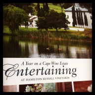Entertaining on a Cape wine estate made easy and enjoyable