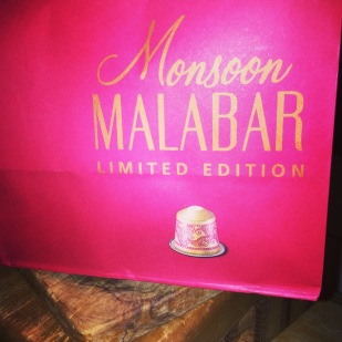 Nespresso's latest flavour - Monsoon Malabar