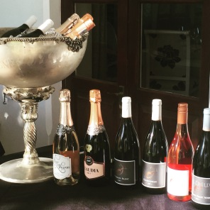 Hemel-en-Aarde wines served at The Marine Hotel, Hermanus