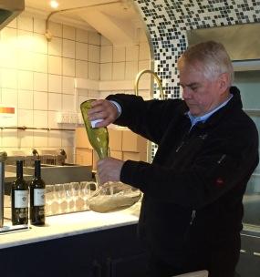 Tinus van Niekerk, Wine Plus at Hermanus FynArts