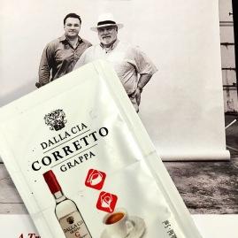 George & Giorgio Dalla Cia -  all about grappa