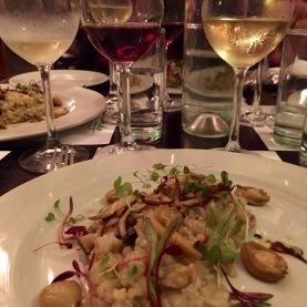 Abalone Risotto with Ataraxia - Sauvignon, Chardonnay or Pinot Noir
