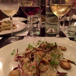 Abalone Risotto with Ataraxia - Sauvignon, Chardonnay or Pinot Noir