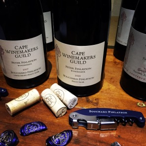 Bouchard Finlayson's Cape Winemakers Guild vintages 2007, 2009, 2012