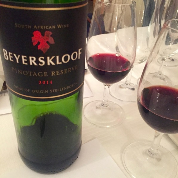Glass half full of Pinotage,